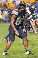 Pitt wide receiver Rafael Araujo-Lopes. The Penn State Nittany Lions defeated the Pitt Panthers 51-6 on September 08, 2018 at Heinz Field in Pittsburgh, Pennsylvania.