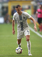 Calcio, Serie A: Inter Milano-Parma, Giuseppe Meazza stadium, September 15, 2018.<br /> Inter's Ivan Perisic in action during the Italian Serie A football match between Inter and Parma at Giuseppe Meazza (San Siro) stadium, September 15, 2018.<br /> UPDATE IMAGES PRESS/Isabella Bonotto