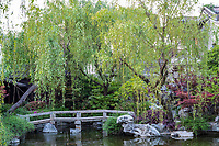 Yangzhou, Jiangsu, China.  A Traditional Chinese garden of the Ma Family.