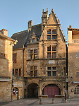 House in Sarlat-la-Canéda which in 1530 was the birthplace of Étienne de la Boétie, poet, writer, jurist, political philosopher and friend of the French philosopher Montaigne.