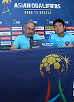 Korea's Press Conference prior to their 2018 FIFA World Cup Russia Final Qualification Round Group A match between Syria vs Korea  Republic at the Tuanku Abdul Rahman Stadium on 05 September 2016, in Paroi, Malaysia. Photo by Simon Yap / Lagardere Sports