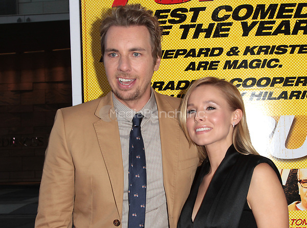 LOS ANGELES, CA - AUGUST 14: Dax Shepard and Kristen Bell arrives at the 'Hit & Run' Los Angeles Premiere on August 14, 2012 in Los Angeles, California mpi21 / Mediapunchinc