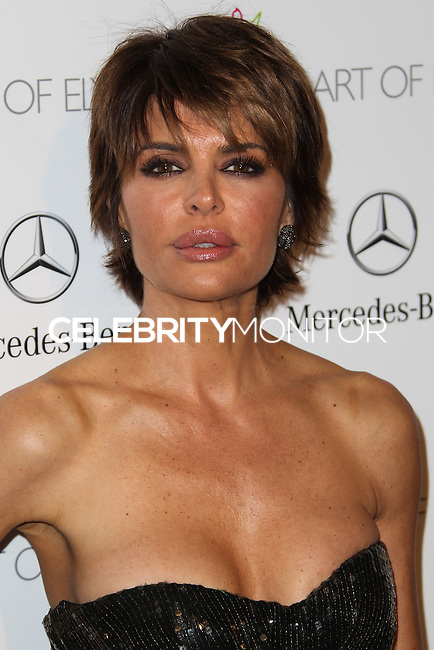 LOS ANGELES, CA - JANUARY 11: Lisa Rinna at The Art of Elysium's 7th Annual Heaven Gala held at Skirball Cultural Center on January 11, 2014 in Los Angeles, California. (Photo by Xavier Collin/Celebrity Monitor)