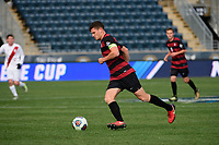 Chester, PA - Sunday December 10, 2017: Tomas Hilliard-Arce. Stanford University defeated Indiana University 1-0 in double overtime during the NCAA 2017 Men's College Cup championship match at Talen Energy Stadium.