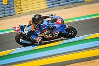 #34 JMA RACING - ACTION BIKE (FRA) SUZUKI GSXR 1000 -SUPERSTOCK- CARRILLO CYRIL (FRA) / BONNET JULIEN (FRA) / CUDEVILLE MAXIME (FRA)