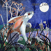 Simon, REALISTIC ANIMALS, REALISTISCHE TIERE, ANIMALES REALISTICOS, innovative, paintings+++++KateFindlay_MoonlightHare,GBWR164,#a#, EVERYDAY,rabbit