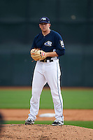West Michigan Whitecaps pitcher Spencer Turnbull (32) gets ready to deliver a pitch during a game against the Cedar Rapids Kernels on June 7, 2015 at Fifth Third Ballpark in Comstock Park, Michigan.  West Michigan defeated Cedar Rapids 6-2.  (Mike Janes/Four Seam Images)