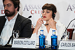 "Marion Cotillard during the presentation of the film ""Assassin's Creed"" in Madrid, Spain. December 07, 2016. (ALTERPHOTOS/BorjaB.Hojas)"