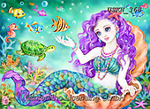 Kayomi, CUTE ANIMALS, LUSTIGE TIERE, ANIMALITOS DIVERTIDOS, paintings+++++,USKH368,#ac#, EVERYDAY ,puzzle,puzzles, mermaid