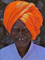 Indian at Daulatabad Fort Aurangabad