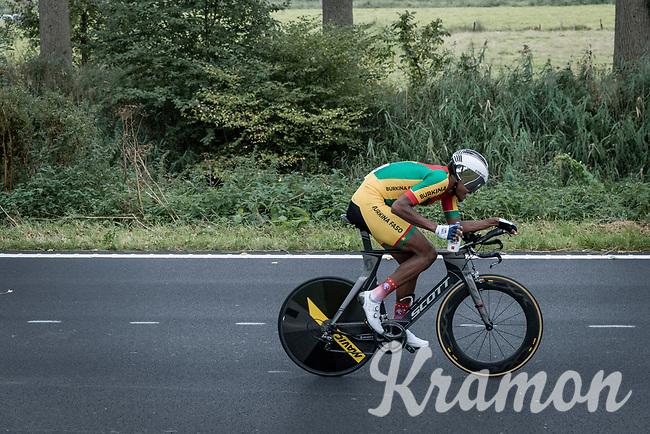 Paul Daumont (BUR)<br /> <br /> 88th UCI Road World Championships 2021 – ITT (WC)<br /> Men's U23 Time trial from Knokke-Heist to Brugge (30.3km)<br /> <br /> ©Kramon