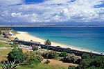 South Africa, Garden Route, Mossel Bay: Santos Beach