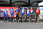 Groupama-FDJ at sign on for the 73rd edition of Kuurne-Brussel-Kuurne 2021 running 197km from Kuurne to Kuurne, Belgium. 28th February 2021  <br /> Picture: Serge Waldbillig | Cyclefile<br /> <br /> All photos usage must carry mandatory copyright credit (© Cyclefile | Serge Waldbillig)