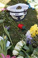 APR 11 Flowers for Duke of Edinburgh death