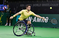 Rotterdam, The Netherlands, 14 Februari 2019, ABNAMRO World Tennis Tournament, Ahoy, - Gordon Reid (GBR),<br /> Photo: www.tennisimages.com/Henk Koster