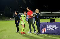 Irvine, CA - July 11, 2019: U.S. Soccer Girls' DA U-16/17 Final Solar Soccer Club vs Lonestar SC Academy at Great Park.