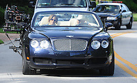 """SMG_Jennifer Lopez_Jason Statham_Bentley_092111_09.JPG<br /> <br /> PALM BEACH, FL - SEPTEMBER 21: Actress/Singer Jennifer Lopez, and English actor Jason Statham, on set filming their new crime/thriller """"Parker"""" directed by Taylor Hackford.  The two actors drove around all day filming in a Convertible Bentley in the blistering Florida sun where temperatures soared to almost 100 degrees.  On September 21, 2011 in Palm Beach, Florida.  (Photo By Storms Media Group)<br /> <br /> People:   Jennifer Lopez_Jason Statham<br /> <br /> Must call if interested<br /> Michael Storms<br /> Storms Media Group Inc.<br /> 305-632-3400 - Cell<br /> 305-513-5783 - Fax<br /> MikeStorm@aol.com"""