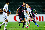FC Kitchee Defender Krisztin Vadocz (c) looks to bring the ball down during the AFC Champions League 2017 Preliminary Stage match between  Kitchee SC (HKG) vs Hanoi FC (VIE) at the Hong Kong Stadium on 25 January 2017 in Hong Kong, China. Photo by Marcio Rodrigo Machado / Power Sport Images