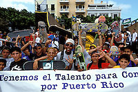 Puerto Rico, San Juan, Skateboarders