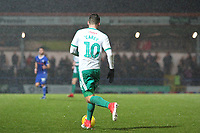 Graham Carey (Plymouth Argyle) during the Sky Bet League 1 match between Rochdale and Plymouth Argyle at Spotland Stadium, Rochdale, England on 15 December 2018. Photo by James  Gill / PRiME Media Images.