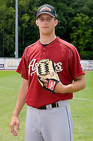 Jordan Lyles (20) of the Greeneville Astros at Bowen Field in Bluefield, WV, Sunday July 6, 2008. (Photo by Brian Westerholt / Four Seam Images)