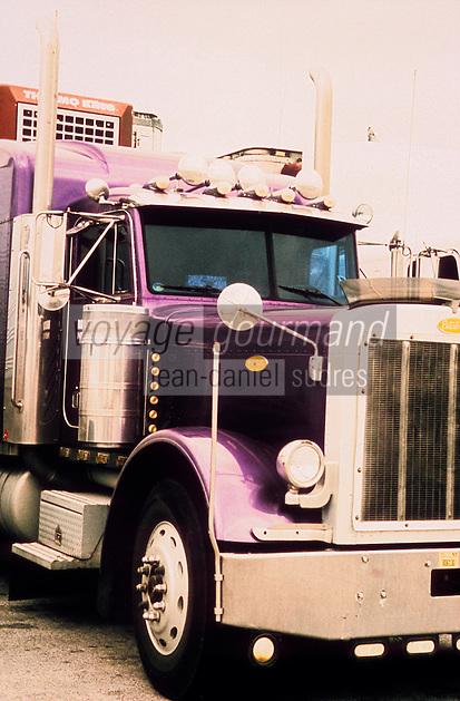 Amérique/Amérique du Nord/USA/Etats-Unis/Vallée du Delaware/Pennsylvanie/Philadelphie : Marché de gros - Détail des camions trucks
