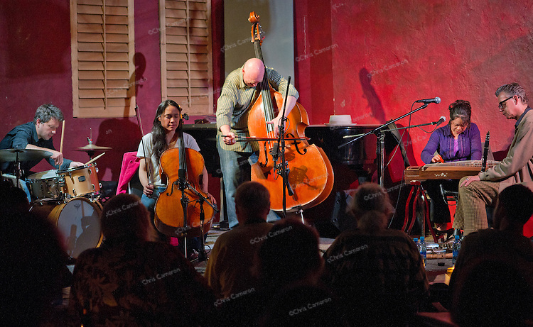 Torsten Müller's Distant Relatives with guests Ab Baars and Xu Fengxia at The Ironworks.