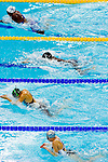 Swimmers compete during the 10th FINA World Swimming Championships (25m) at the Hamdan bin Mohammed bin Rashid Sports Complex on December 15, 2010 in Dubai, United Arab Emirates. Photo by Victor Fraile / Power Sport Images.