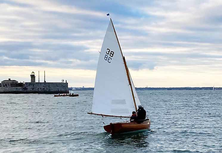 Guy and Jackie Kilroy sailing Swift were the winners of the Water Wag Captain's Prize race