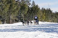 2013 UP200 - The final day of this 240-mile dog sled that takes place in Michigan's Upper Peninsula.