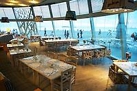 Seafood restaurant at Macedonia Palace Hotel. Thessaloniki, Macedonia, Greece