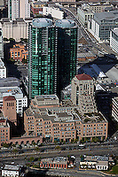 aerial photograph Infinity Towers 301 Main Street San Francisco