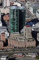 aerial photograph Infinity Towers 301 Main Street San Francisco