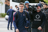 TORONTO, ON - OCTOBER 15: Christian Pulisic #10 of the United States as he enters the stadium during a game between Canada and USMNT at BMO Field on October 15, 2019 in Toronto, Canada.