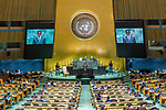 General Assembly Seventy-fourth session, 5th plenary meeting<br /> <br /> His Excellency Edgar Chagwa Lungu, President, Republic of Zambia