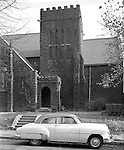 Wilkinsburg PA:  View of the Saint Stephens Episcopal Church at the corner of Pitt Street and Franklin Avenue.