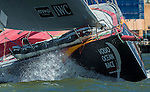 Teams sail during thePractice Race as part of the activities of the Volvo Ocean Race stopover on June 25, 2015 in Gothenburg, Sweden. Photo by Victor Fraile / Power Sport Images