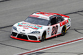 HAMPTON, GEORGIA - JUNE 06: Harrison Burton, driver of the #20 Hunt Brothers Pizza/DEX Imaging Toyota, drives during the NASCAR Xfinity Series EchoPark 250 at Atlanta Motor Speedway on June 06, 2020 in Hampton, Georgia. (Photo by Chris Graythen/Getty Images)