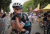 Zdenek Stybar (CZE/Etixx-QuickStep) waiting for the start<br /> <br /> stage 14: Rodez - Mende (178km)<br /> 2015 Tour de France