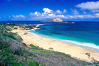 Makapuu Beach, east coast, Oahu