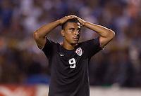Charlie Davies. US Men's National Team vs Honduras at Estadio Olimpico in San Pedro Sula, Honduras.