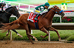 """DEL MAR, CA  AUGUST 21: #1 Tripoli, ridden by Tiago Pereira, wins the TVG Pacific Classic (Grade l) Breeders Cup """"Win and You're In"""" Classic Division on August 21, 2021 at Del Mar Thoroughbred Club in Del Mar, CA. (Photo by Casey Phillips/Eclipse Sportswire/CSM)"""