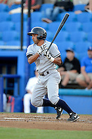 Tampa Yankees shortstop Ali Castillo #12 during a game against the Dunedin Blue Jays on April 11, 2013 at Florida Auto Exchange Stadium in Dunedin, Florida.  Dunedin defeated Tampa 3-2 in 11 innings.  (Mike Janes/Four Seam Images)