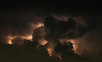 A massive storm brewing over Manila Philippines - Weather