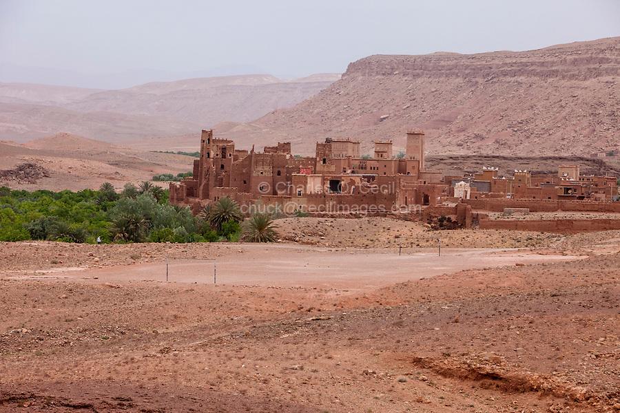 Morocco.  Tamdaght Ksar, an Historic Glaoui Settlement.