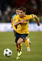 Football Soccer: UEFA Champions League AS Roma vs Atletico Madrid Stadio Olimpico Rome, Italy, September 12, 2017. <br /> Atletico Madrid's Luciano Vietto in action during the Uefa Champions League football soccer match between AS Roma and Atletico Madrid at at Rome's Olympic stadium, September 12, 2017.<br /> UPDATE IMAGES PRESS/Isabella Bonotto
