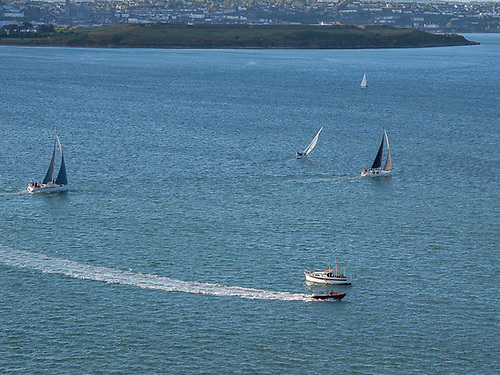 Royal Cork Yacht Club cruisers are gracing the waters of Cork Harbour again as training resumes from Crosshaven