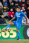 Damian Nicolas Suarez Suarez of Getafe CF in action during the La Liga 2017-18 match between Getafe CF and Athletic Club at Coliseum Alfonso Perez on 19 January 2018 in Madrid, Spain. Photo by Diego Gonzalez / Power Sport Images