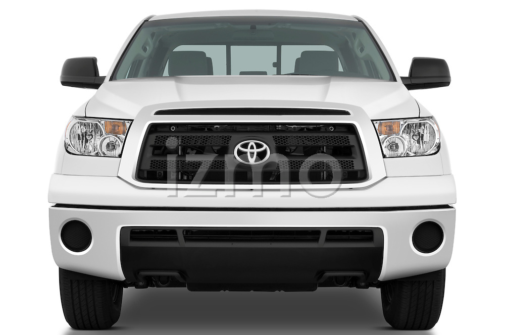 Straight front view of a 2010 Toyota Tundra Double Cab 2WD