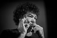 Photo d'archive - Robert Charlebois ,   Festival en Chanson de  Petite-Vallee en Gaspesie, 2014<br /> <br /> PHOTO :  Agence Quebec Presse <br /> <br /> <br /> <br /> <br /> PHOTO :   Agence Quebec Presse